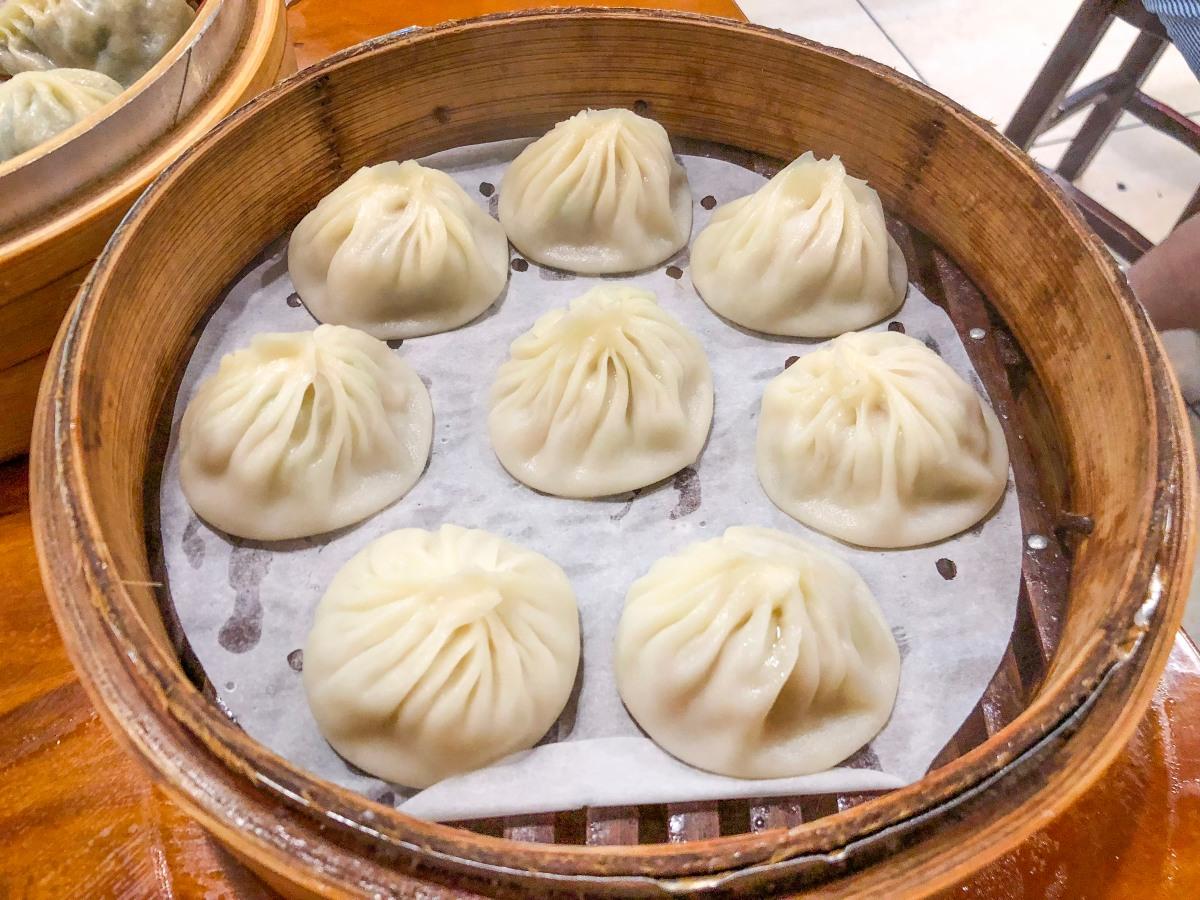 {台北美食}盛園絲瓜小籠湯包-除了杭州小籠湯包你還有其他選擇